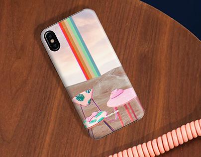 Mooncrab Phone Case Mockups