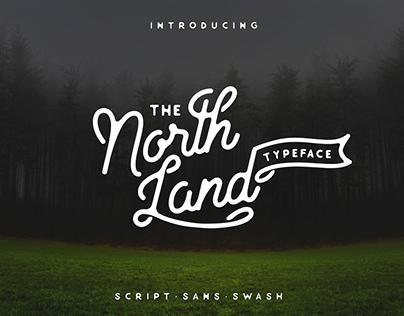 North Land Typeface - Font Bundle
