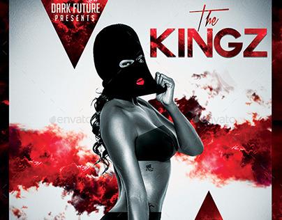 The Kingz | Mixtape Tape Album CD Cover Template
