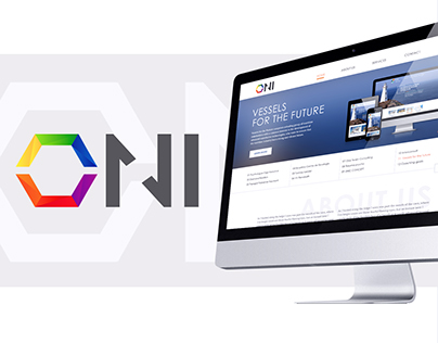 Oni - web site for IT company