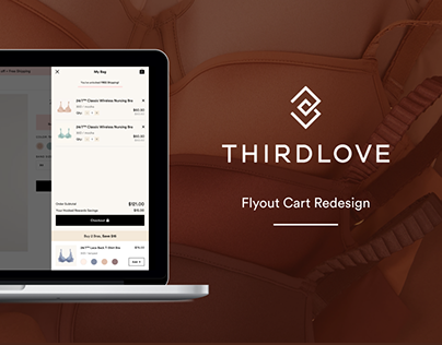 Flyout Cart Redesign - UX Case Study