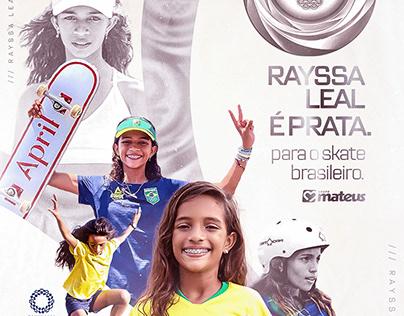 Homenagem Olimpica - Rayssa Leal / Grupo Mateus
