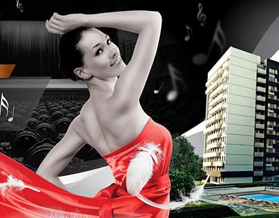 Diseño de Brochure + Fotografías HDR para Real Estate