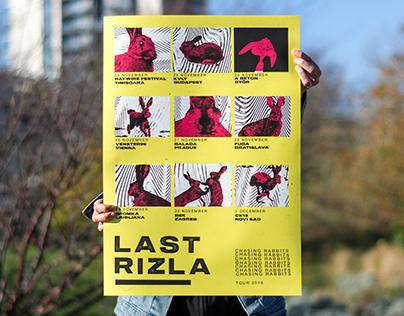 Chasing Rabbits — Tour Poster
