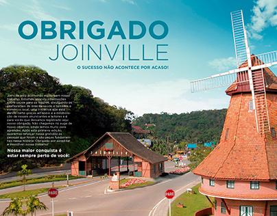 Agradecimento Joinville - Revista Saúde