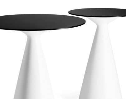 Cone table in new sizes at Stockholm Furniture Fair2013