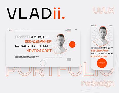 VLADii — Portofolio Website