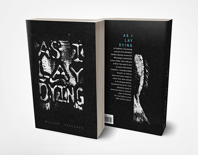 As I Lay Dying: Book Cover Design