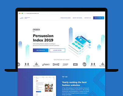 Crobox - Web Design