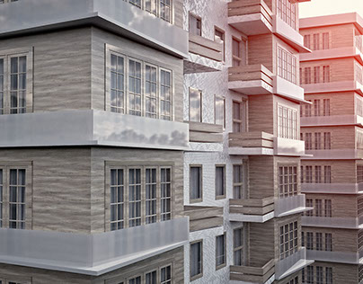 Apartment - Architectural Visualization - Istanbul