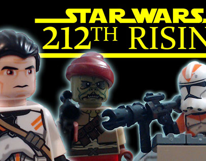 212th Rising Lego Stop Motion