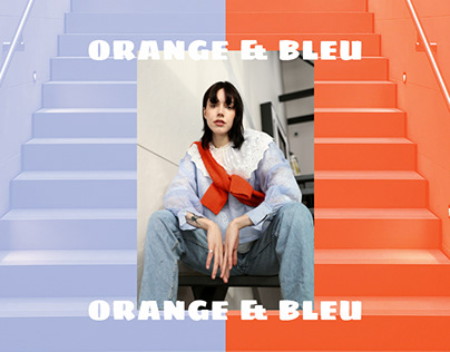Fashion Stylist - ORANGE & BLEU