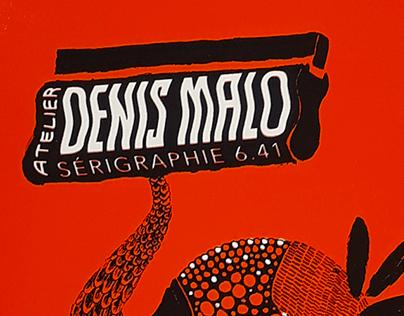 Atelier de sérigraphie Denis Malo