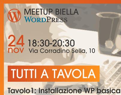 Wordpress Meet-up Biella