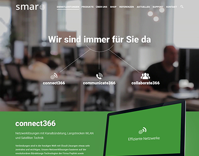 Web Redesign Proposal for Smaro Technology