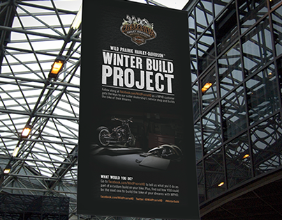 Harley-Davidson Banner - Winter Build Project - 2013