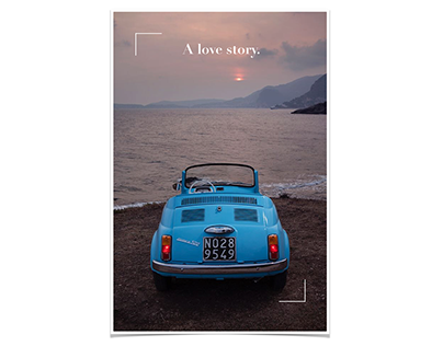 Brand book for a blue identity. Emotion cars, 2017.