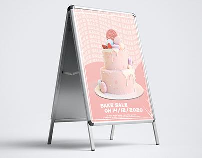 Bake Sell - School Advertisement