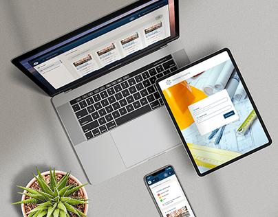 Harmonie Consulting - Web design