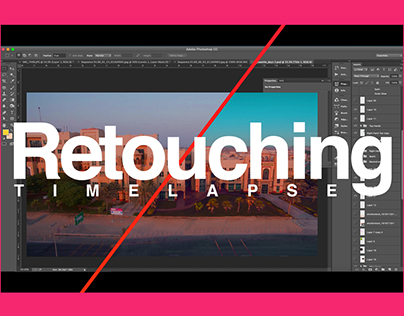 Architectural Retouching Timelapse