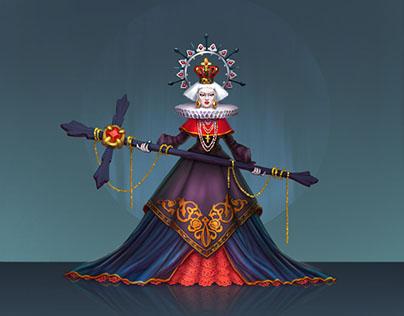 Queen of a nuns,Karamba ART School