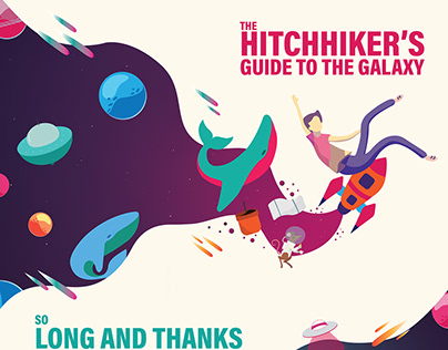 Hitchhiker's Guide to the Galaxy Book Redesign
