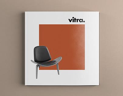 Diseño catalogo conmemorativo Vitra