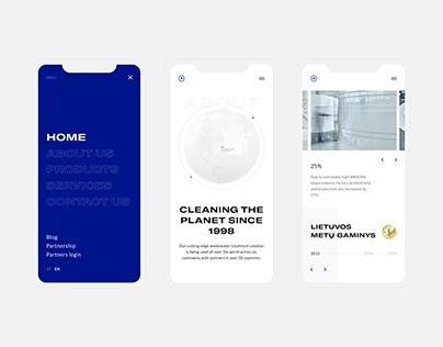 Web design // August