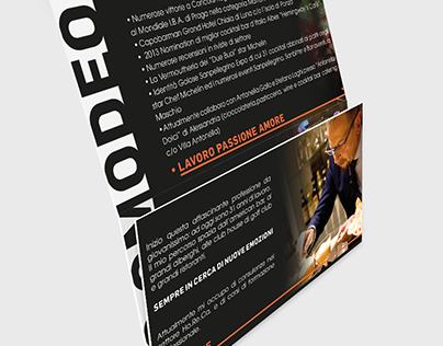 Visual Design for Fabiano Omodeo - bartender -