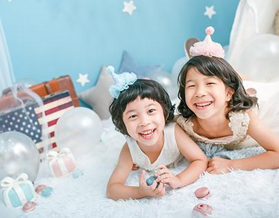 兒童攝影 - 兄弟姊妹合照