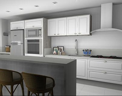 Cozinha - Cliente Milene