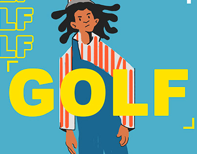 Golf Wang - Ilustration