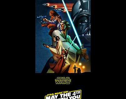 STAR WARS / May the 4th be With You