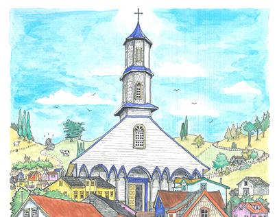 Ilustraciones de Chiloé