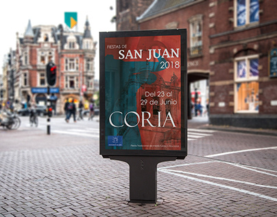 San Juan 2018. Coria (Cáceres). Propuesta-cartel.