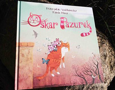 Illustrations for the book Oskar Pazurek.