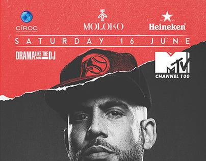 DJ Drama South Africa Tour Moloko Pretoria Leg