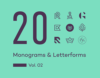 20 Monograms & Letterforms. Vol. 02