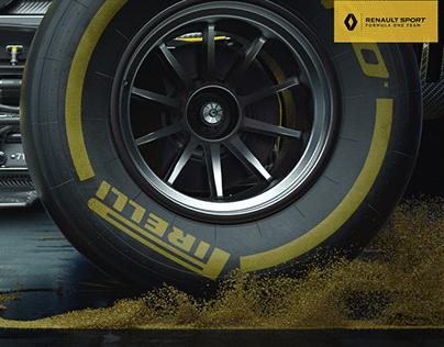 F1-Renault R.S (free scene)