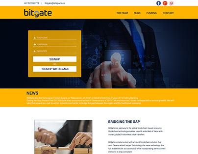 Bitgate Website Template