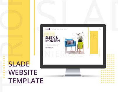 Slade // Website template