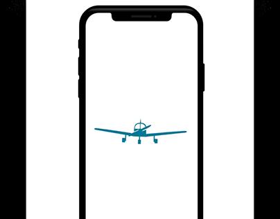 Plane Animation Loader