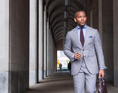 Sabir M Peele x Suit Supply