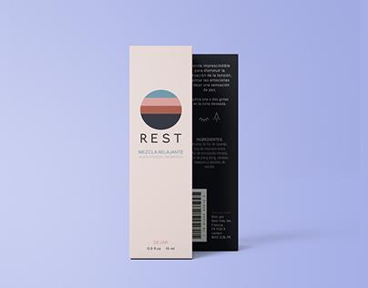 Rest Oils, Branding & Packaging
