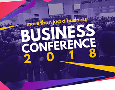 Modern Trend Business Conference Template