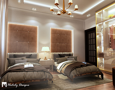 Double Bedroom Design and Visualization