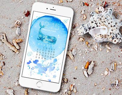 iPhone lockscreen wallpapers