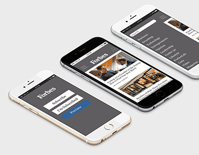 Forbes App Redesign