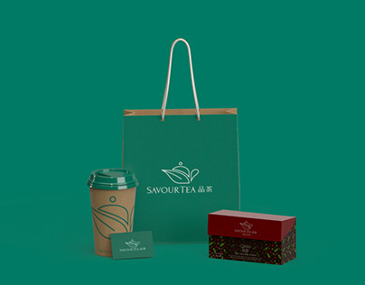 SavourTea - Tea Shop Branding