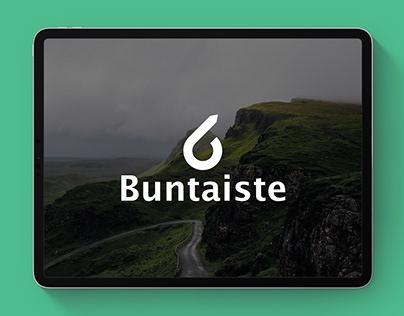 Design of marketing materials for the company Buntaiste